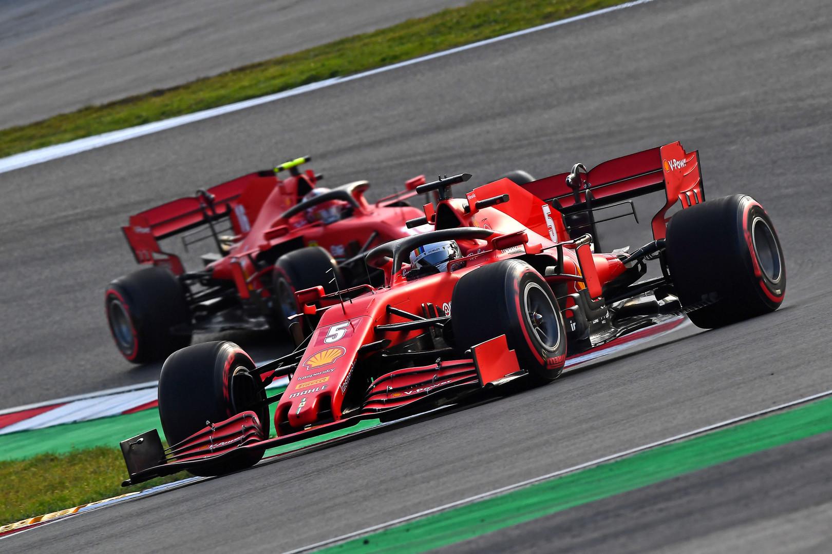 """""""Ferrari"""" variklis 40-50 AG silpnesnis už """"Mercedes"""" motorą"""