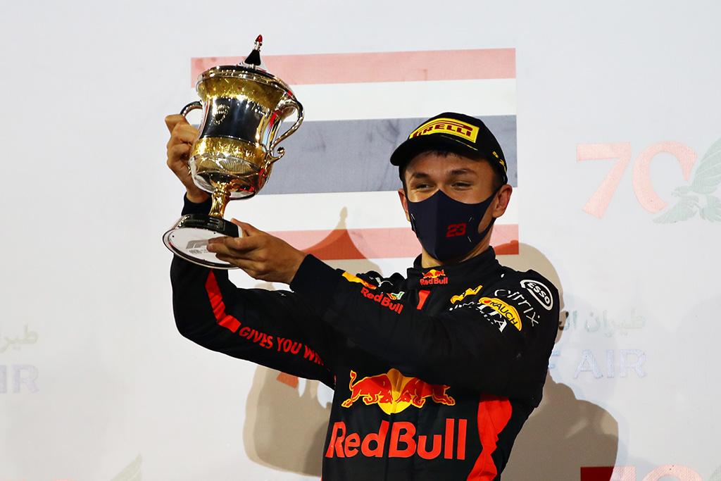 A. Albonas lenktyniaus DTM čempionate