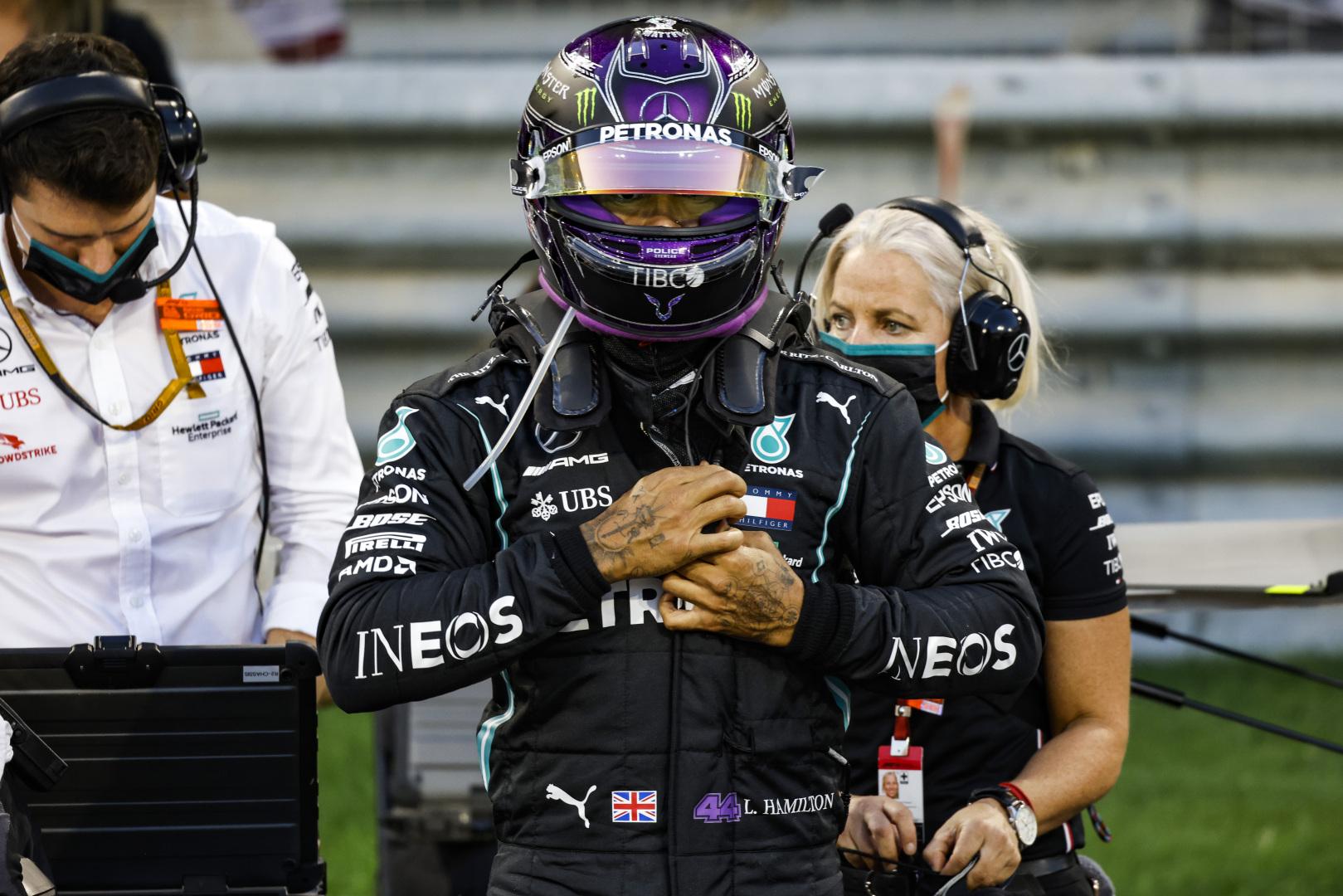 T. Wolffas: L. Hamiltonas gali startuoti paskutinėse lenktynėse