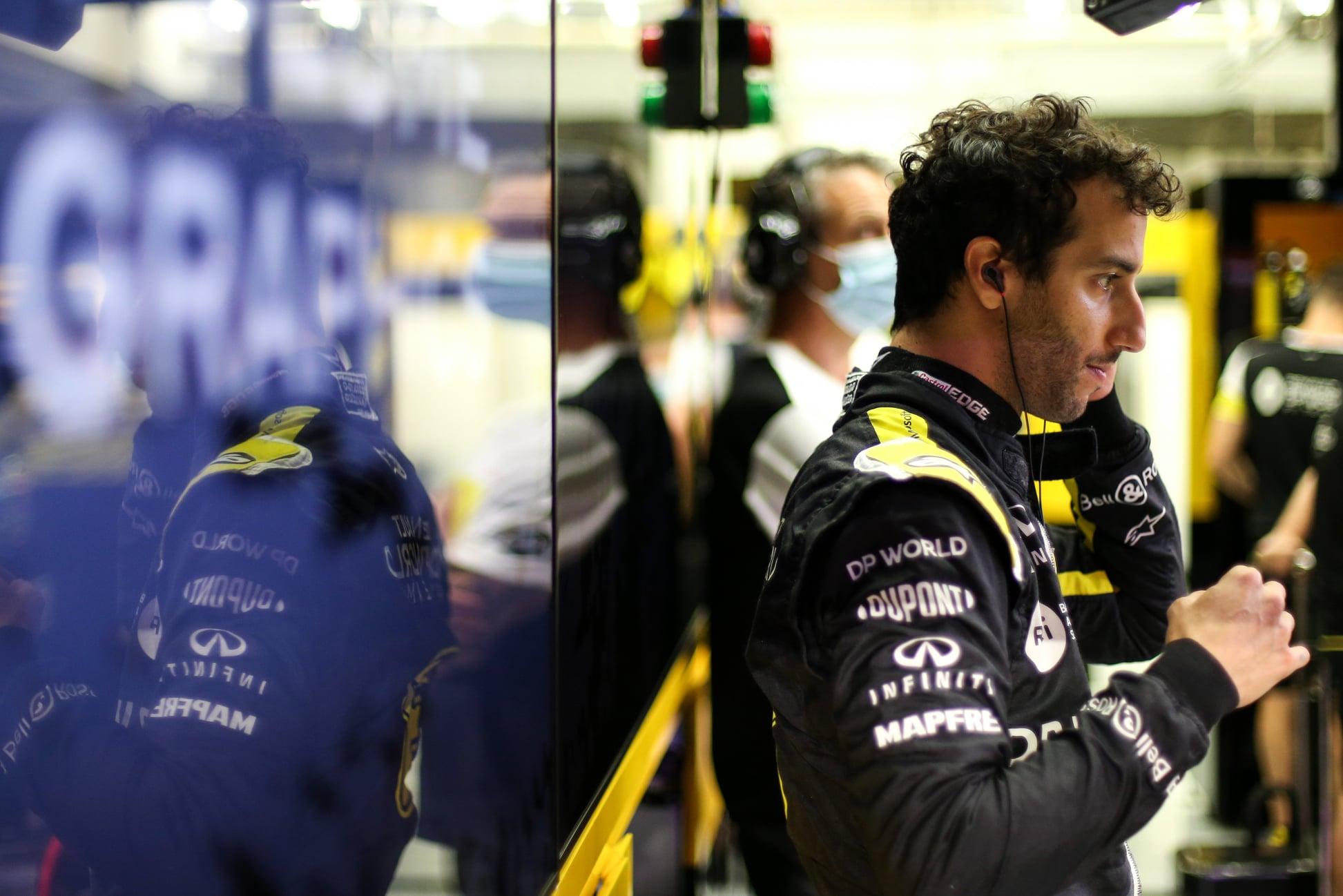 M. Webberis: šiemet D. Ricciardo jautė malonumą lenktyniaudamas