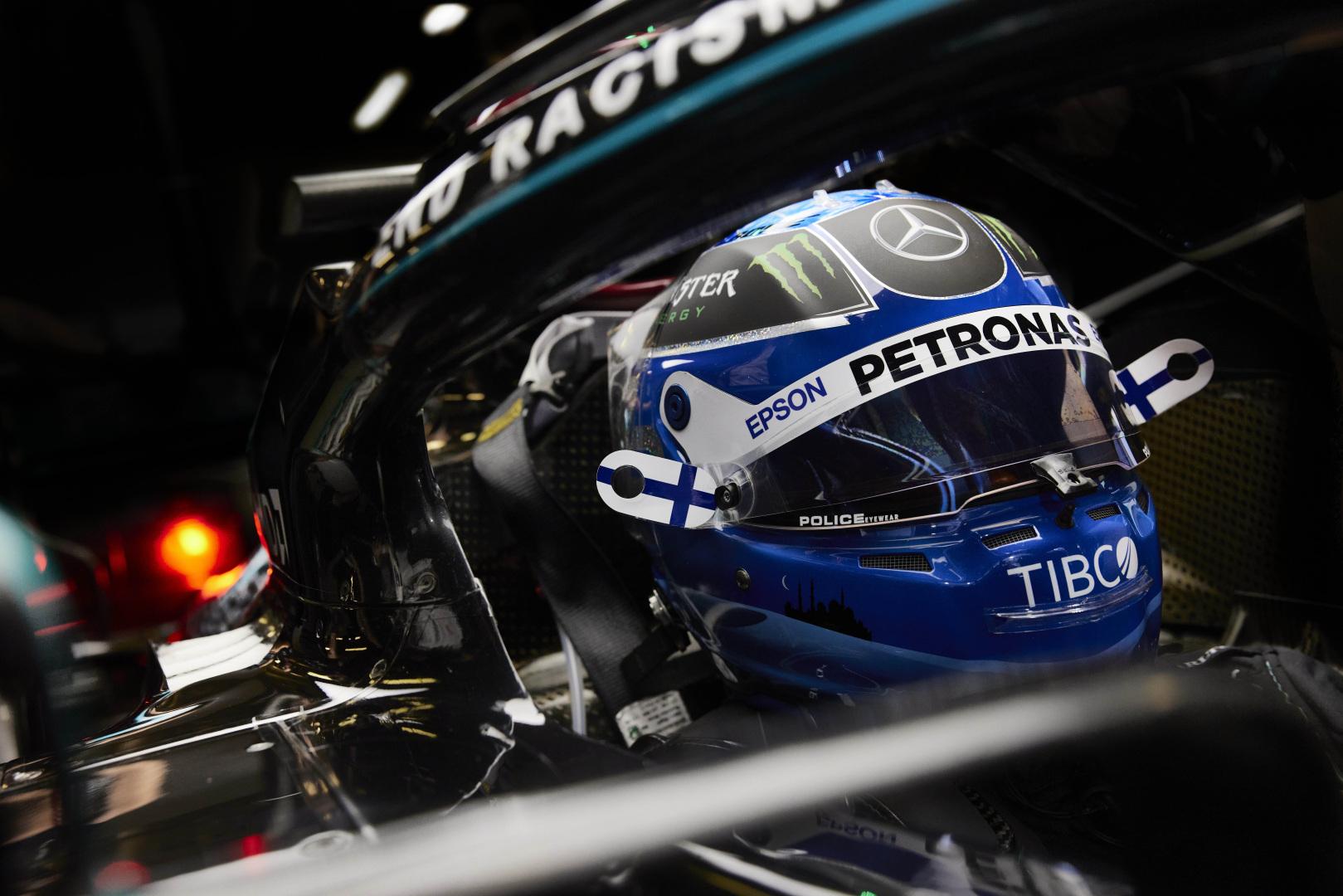 V. Bottas: didesnę pažangą padariau lenktynėse, ne kvalifikacijoje