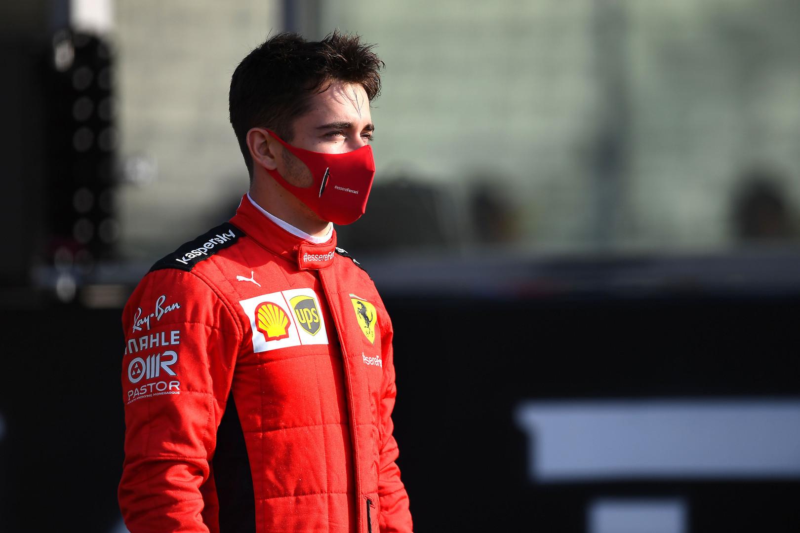 """C. Leclercas: nepaliksiu """"Ferrari"""", kol neįgyvendinsiu savo svajonės"""