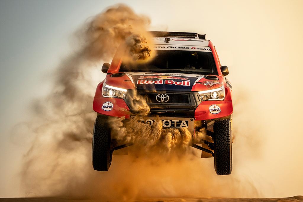 """Dakaras. """"Toyota"""" džiaugiasi, kad buvo apribotas varžovų greitis"""
