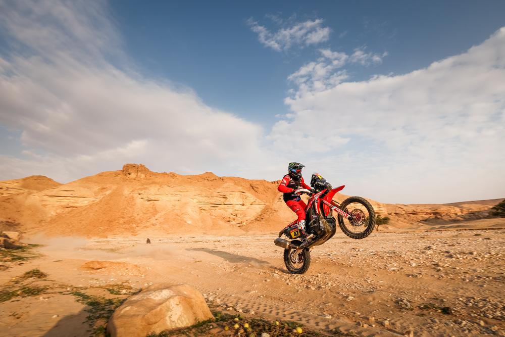 Dakaras. Motociklininkų klasėje vėl naujas lyderis