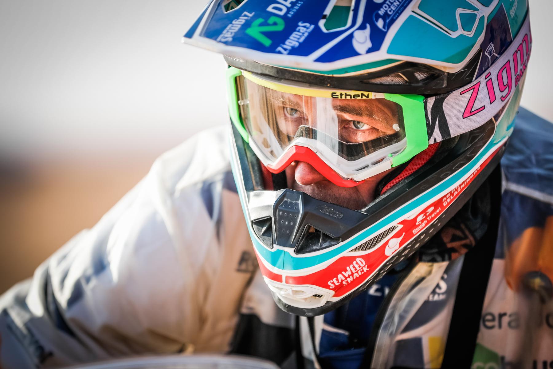 """Dakaras. A. Gelažninkas triumfavo """"vienišių"""" įskaitoje, čempionu tapo K. Benavidesas"""