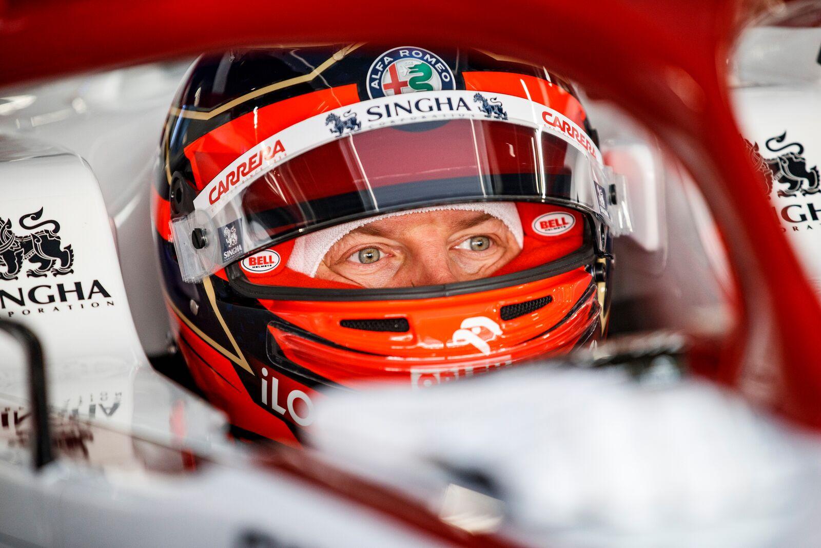 """K. Raikkonenas: naujasis """"Ferrari"""" variklis yra geresnis už pernai naudotą motorą"""