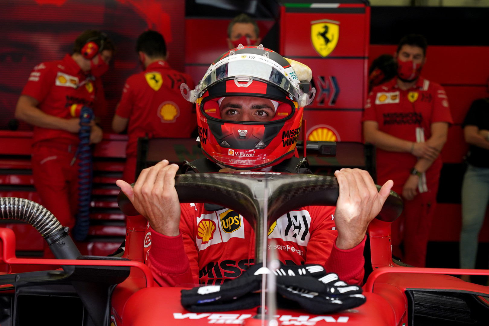 "C. Sainzas tikisi aršios ""Ferrari"" ir ""McLaren"" kovos"