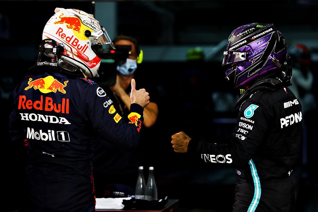 H. Marko: M. Verstappenas ir L. Hamiltonas varžosi kitoje lygoje
