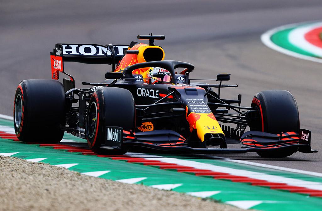 M. Verstappenas nustebo laimėjęs startą