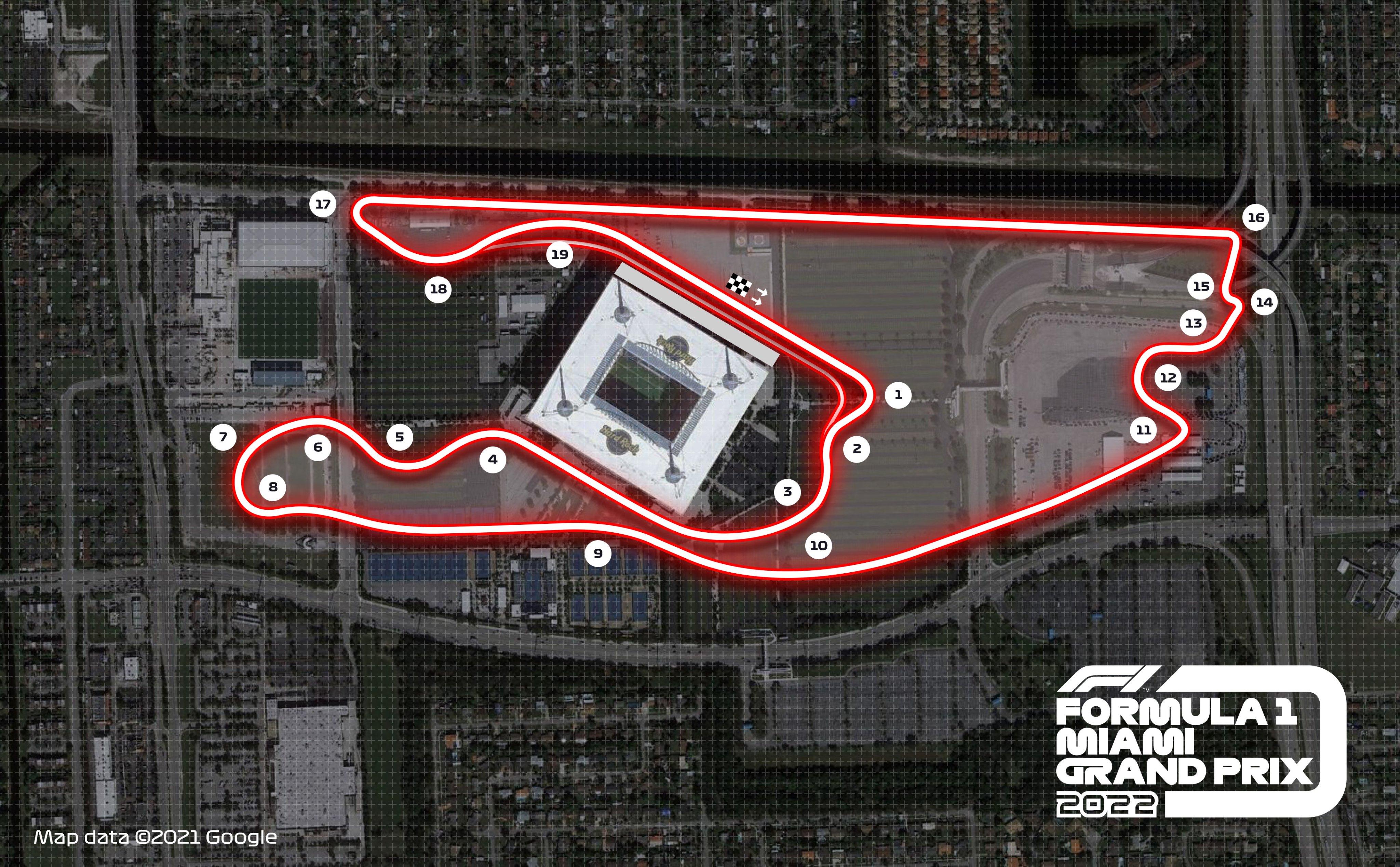Oficialu: F-1 lenktynės kitąmet bus surengtos Majamyje