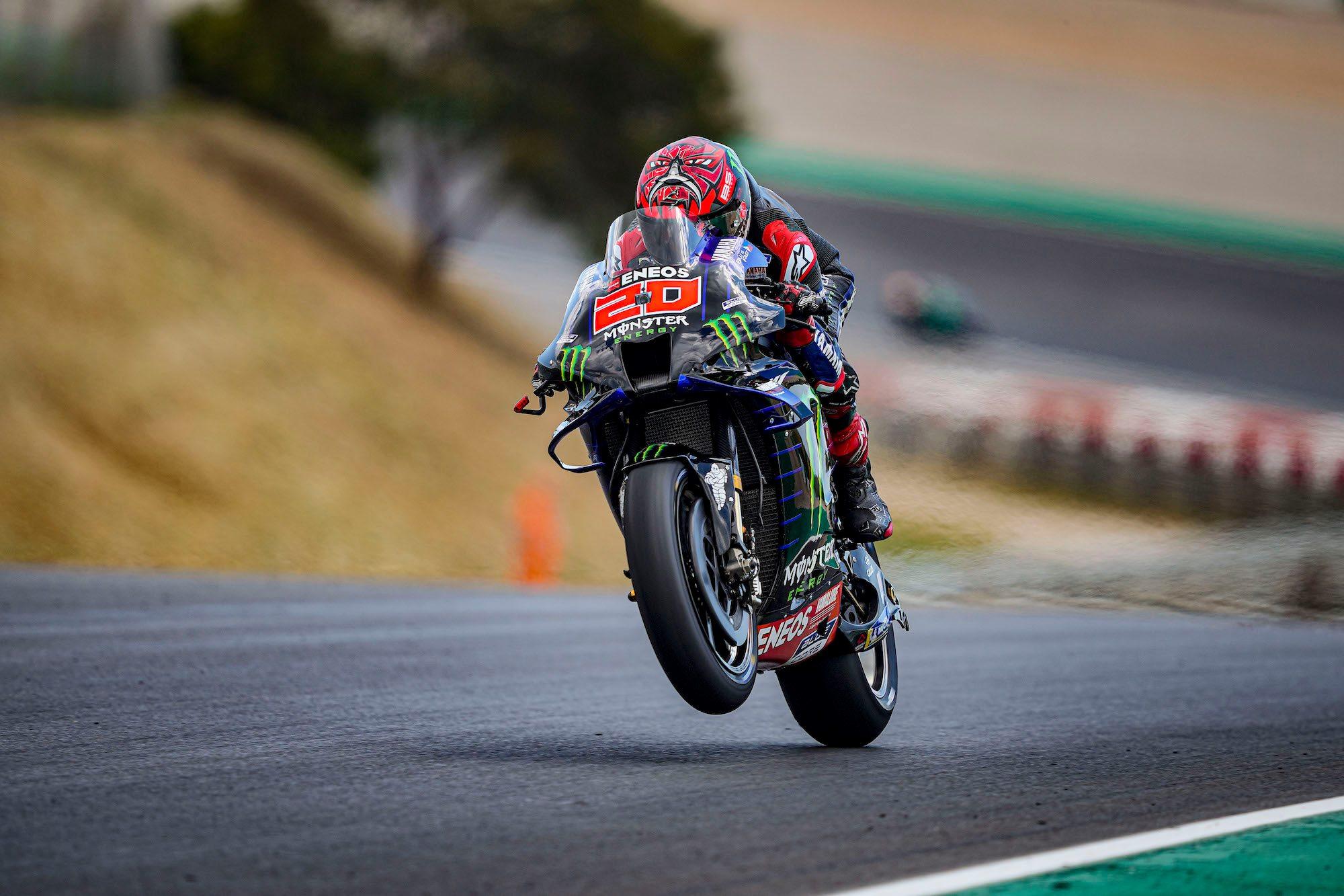 MotoGP. Portugalijoje antrąją pergalę iškovojo F. Quartararo