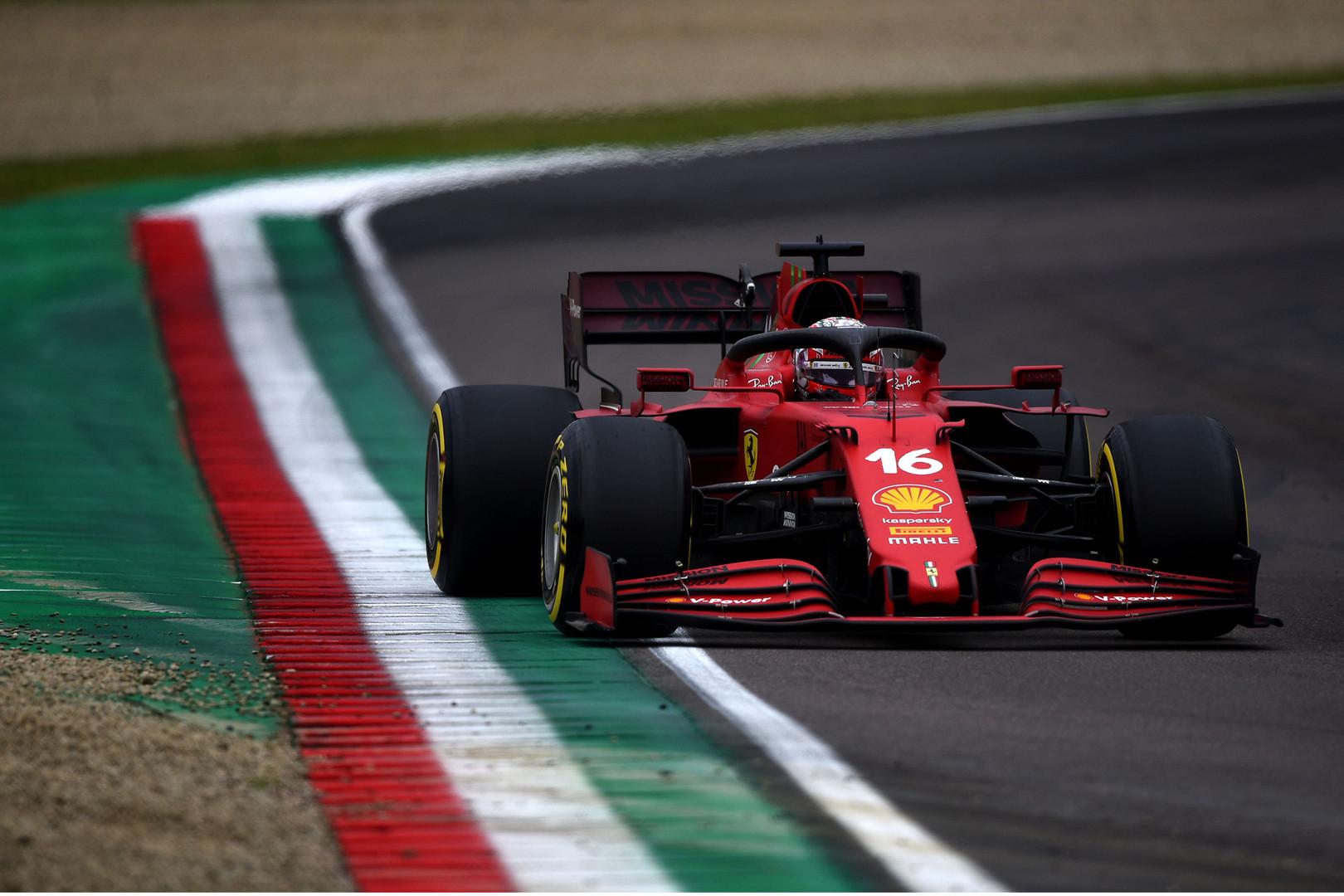 C. Leclercas apgailestavo dėl neišnaudotos progos užlipti ant podiumo