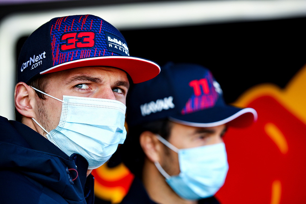 M. Verstappenas: labai slidžioje trasoje nebuvo itin malonu vairuoti