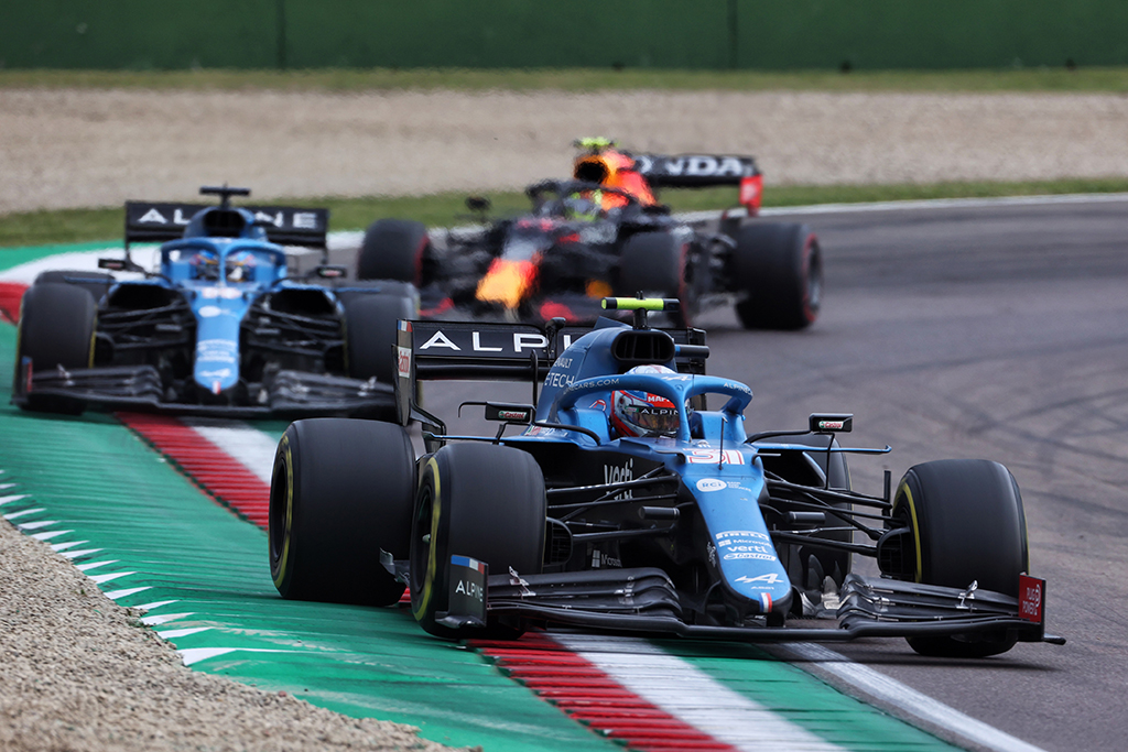 E. Oconas patenkintas rezultatu, o F. Alonso – ne