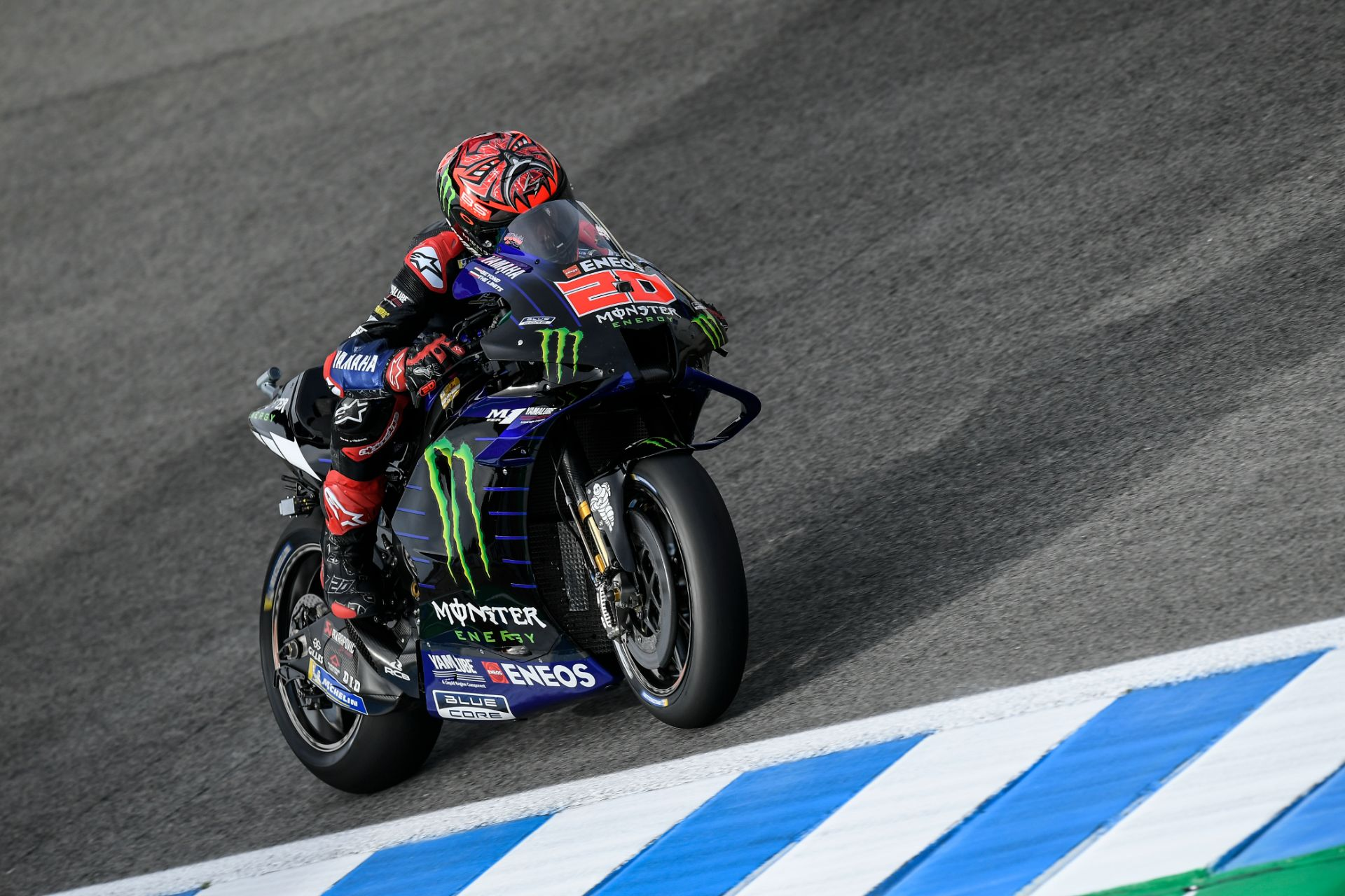"MotoGP. Jereze vykusioje kvalifikacijoje ""pole"" iškovojo F. Quartararo"