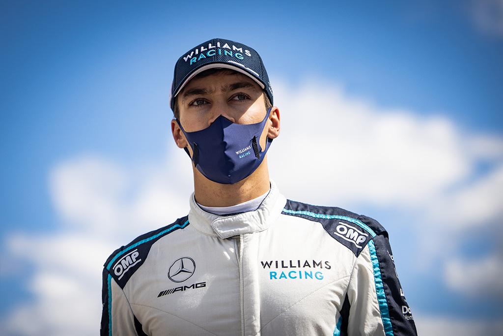 "G. van der Garde'as: G. Russellas neatstovaus ""Mercedes"" tol, kol ten bus L. Hamiltonas"