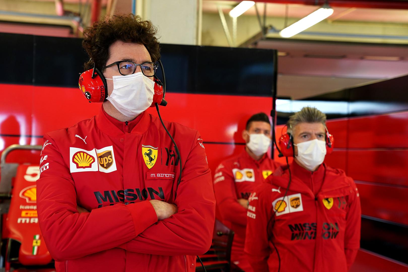 """""""Ferrari"""" tikslas – trečioji vieta konstruktorių įskaitoje"""