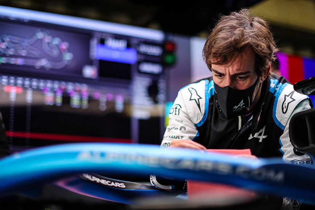 F. Alonso: susikaupusį pyktį išliejau trasoje
