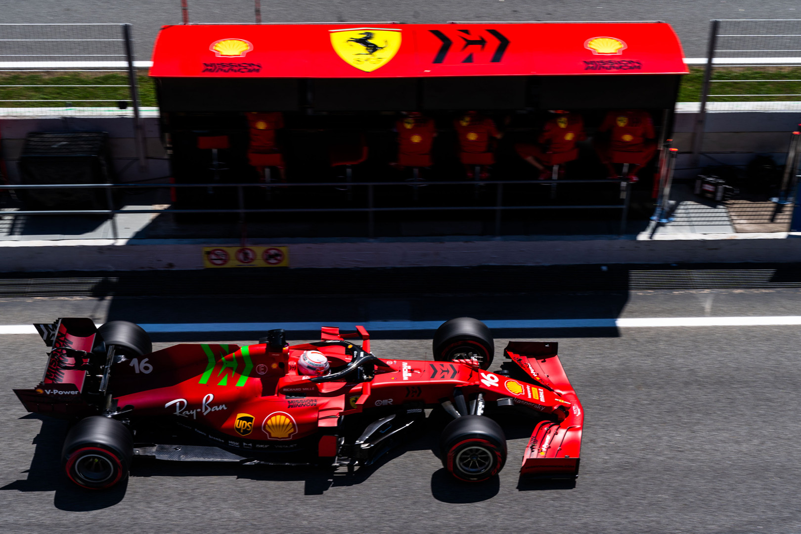 C. Leclercas:  4-oji vieta - geriausia, ką galėjome pasiekti