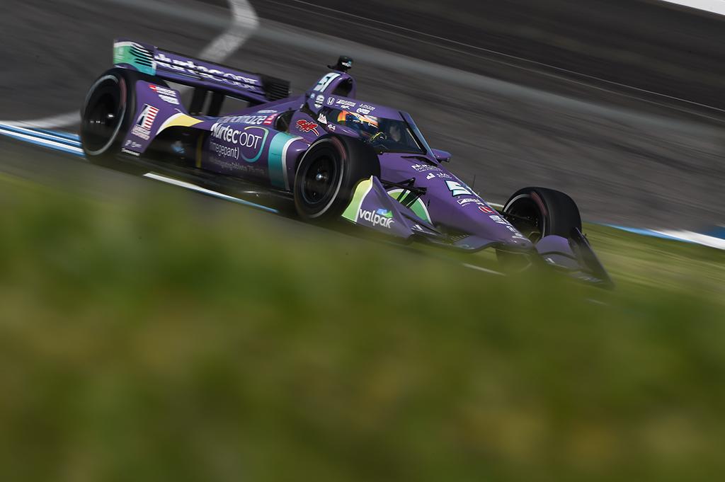 """IndyCar. Indianapolyje netikėtai """"pole"""" iškovojo R. Grosjeanas"""
