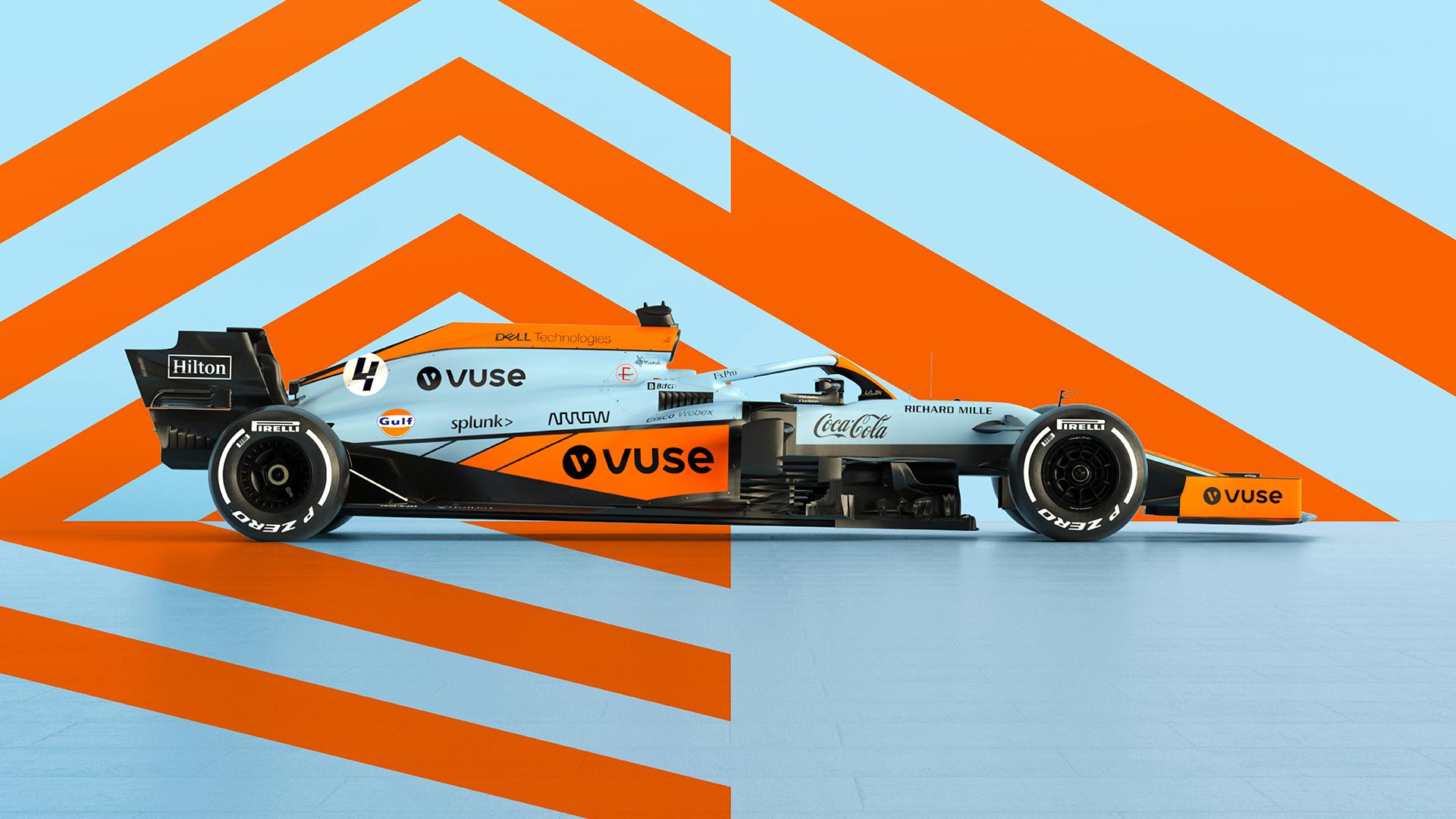 """""""McLaren"""" Monake naudos išskirtinį bolido išdažymą"""