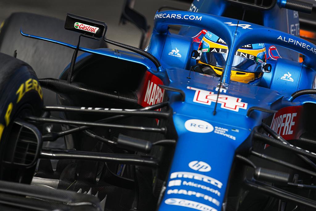 F. Alonso: reikėjo vairą padaryti labiau informatyviu