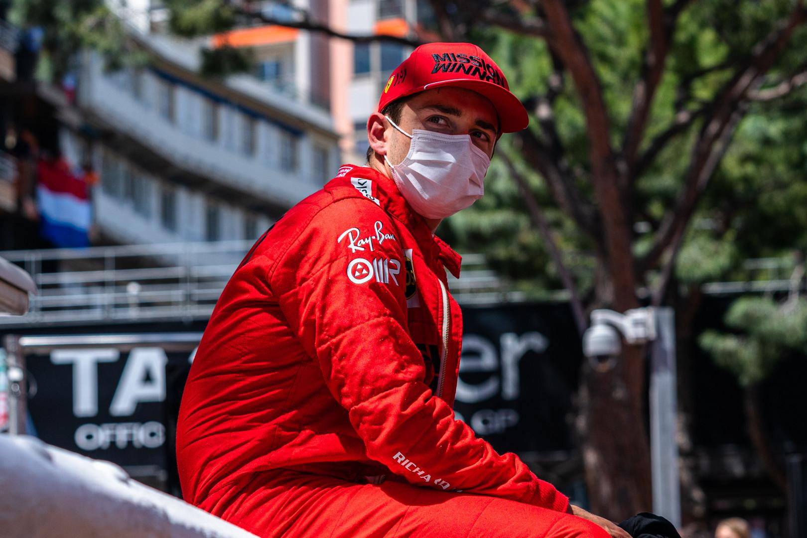 C. Leclercas: šį savaitgalį mums teks sugrįžti į realybę