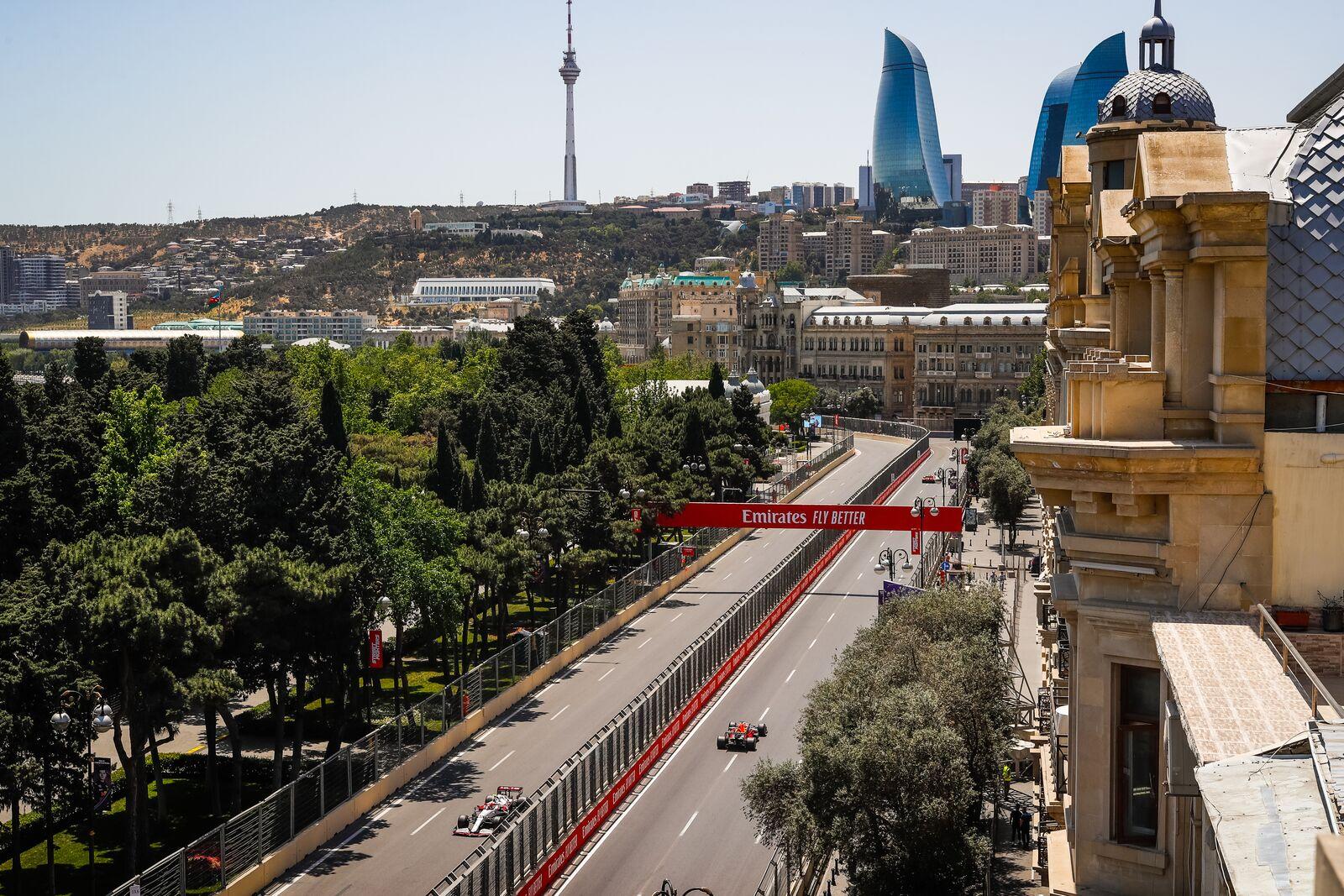 Azerbaidžano GP: įdomioji statistika