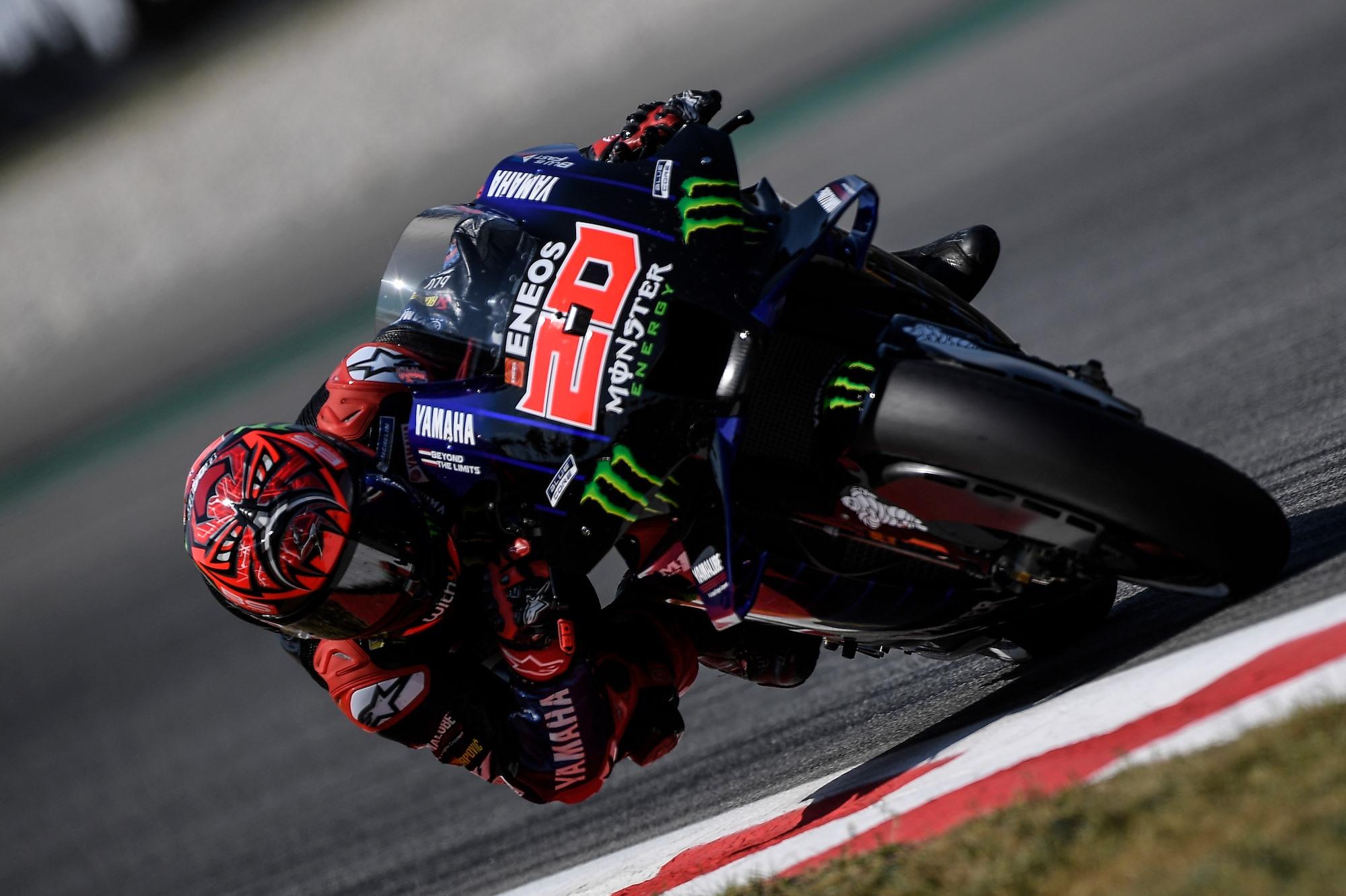 MotoGP. Teisėjai dar kartą nubaudė F. Quartararo
