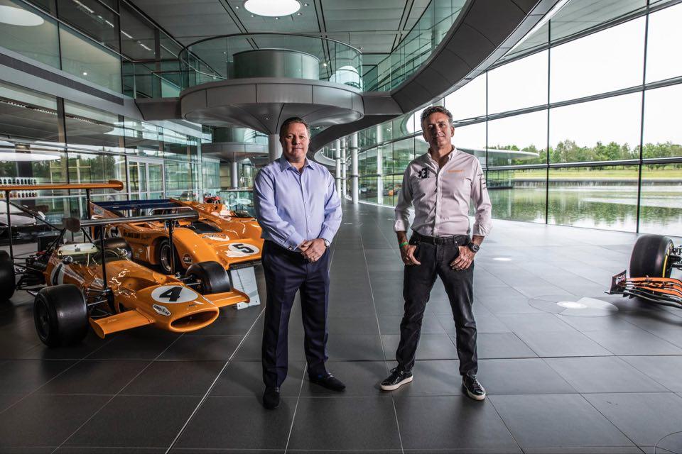 """""""McLaren"""" komanda nuo 2022-ųjų varžysis """"Extreme E"""" serijos lenktynėse"""