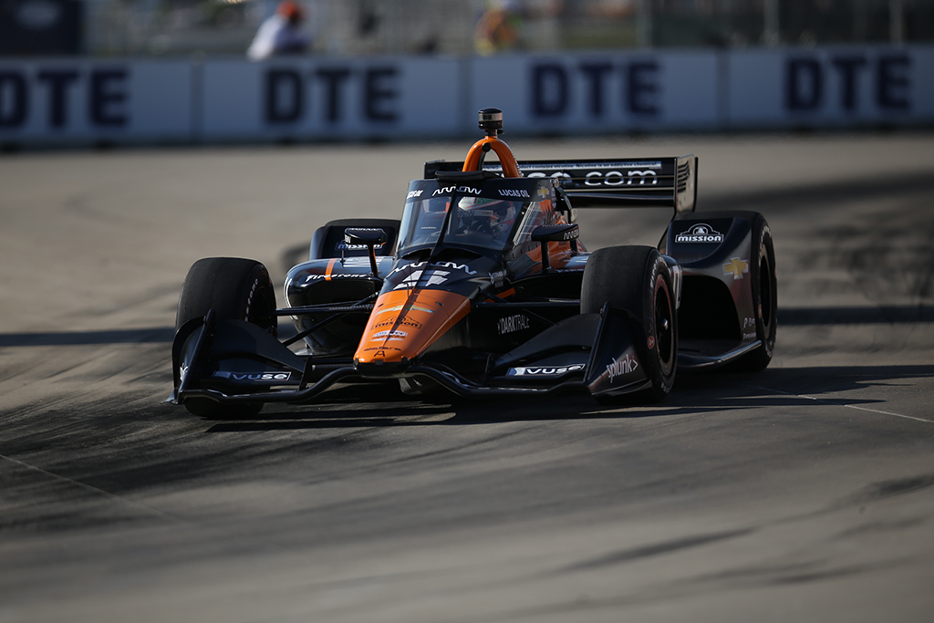 "IndyCar. Detroite ""pole"" iškovojo P. O'Wardas, R. Grosjeanas liko trečias"