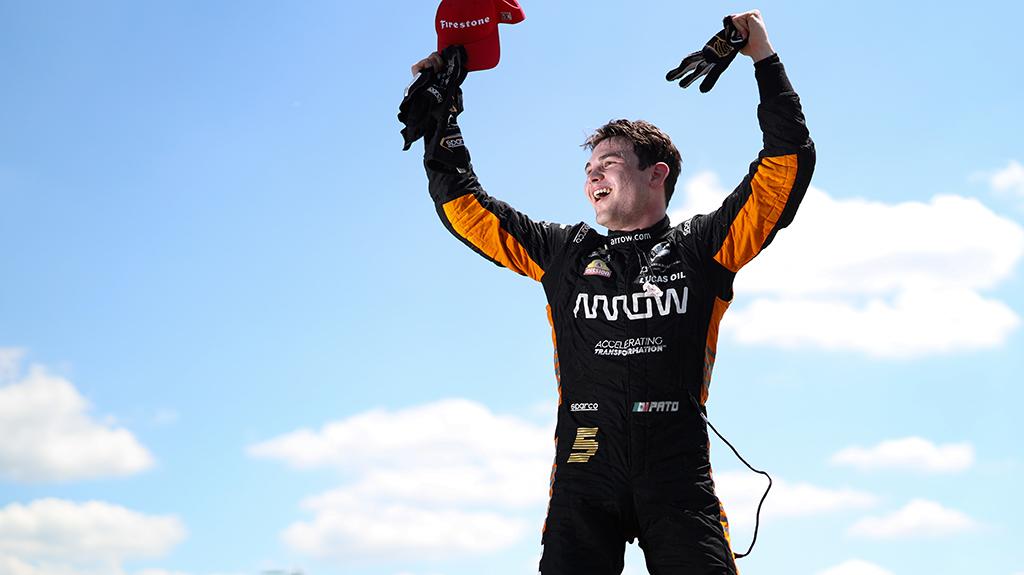 IndyCar. Detroite antrąją pergalę iškovojo iš 16-os pozicijos startavęs P. O'Wardas