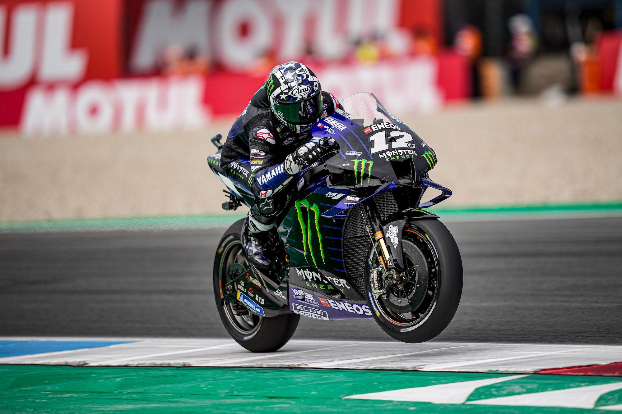 """MotoGP. Asseno trasos rekordą pagerinęs M. Vinalesas iškovojo """"pole"""""""