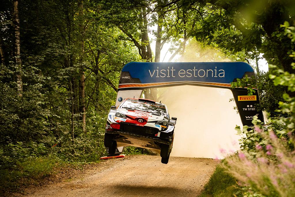 WRC. Estijos ralio lyderiu išlieka K. Rovanpera