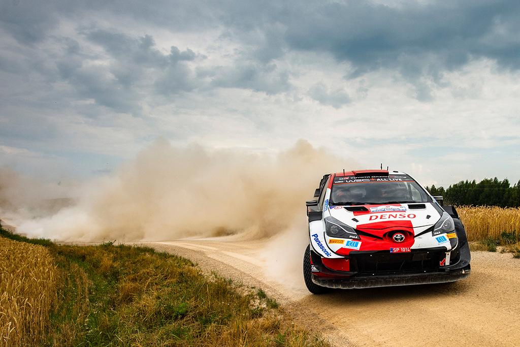 WRC. Estijoje K. Rovanpera artėja prie pirmosios pergalės WRC čempionate
