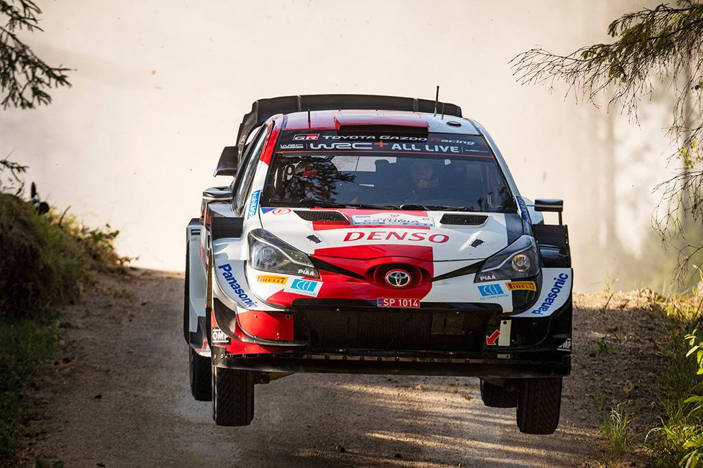 WRC. Estijoje triumfavęs K. Rovanpera tapo jauniausiu WRC nugalėtoju