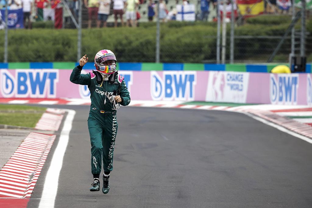 Surasta priežastis, dėl kurios buvo diskvalifikuotas S. Vettelis
