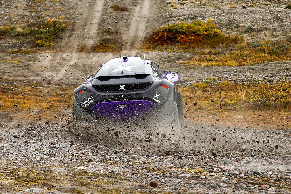 Extreme E. Grenlandijoje greičiausia X44, su problemomis susidūrė Rosbergo komanda