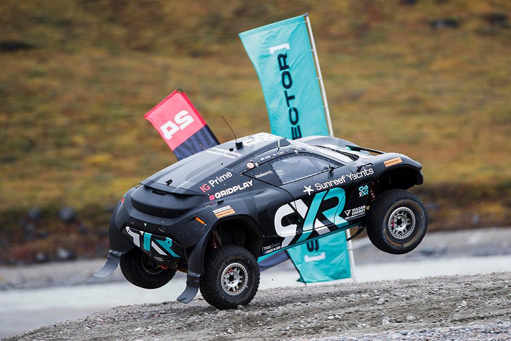Extreme E. Grenlandijoje surengtoje antroje kvalifikacijoje greičiausia Rosbergo komanda