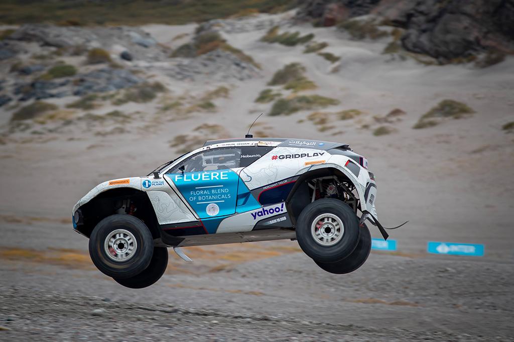 "Extreme E. Grenlandijoje pirmąją pergalę iškovojo ""Andretti"" komanda"