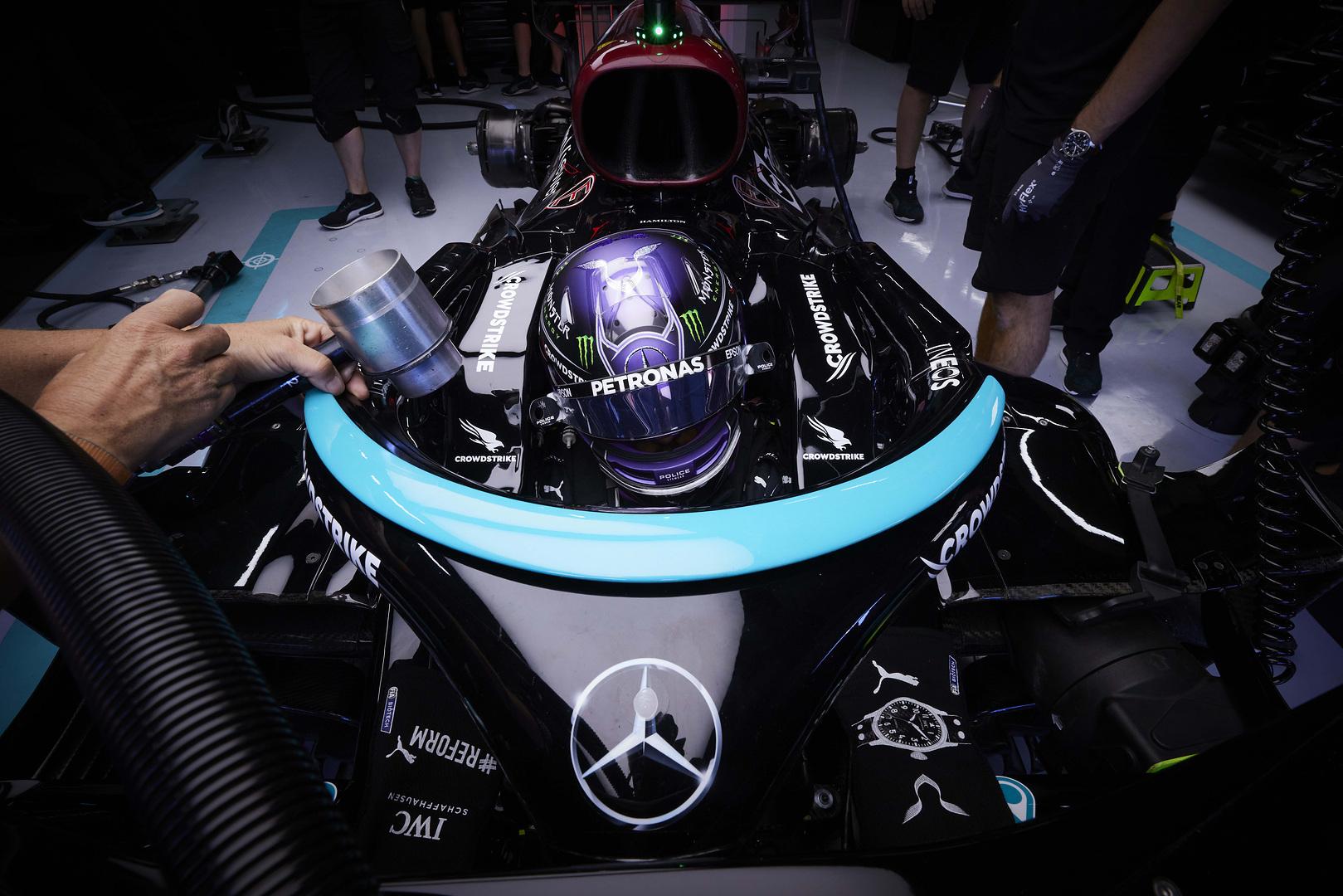 L. Hamiltonas: turime tinkamai išnaudoti M. Verstappeno situaciją