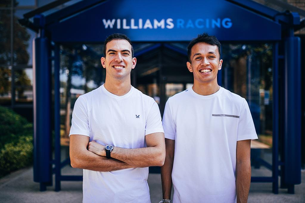 """""""Williams"""" patvirtino kontraktus su A. Albonu ir N. Latifi"""