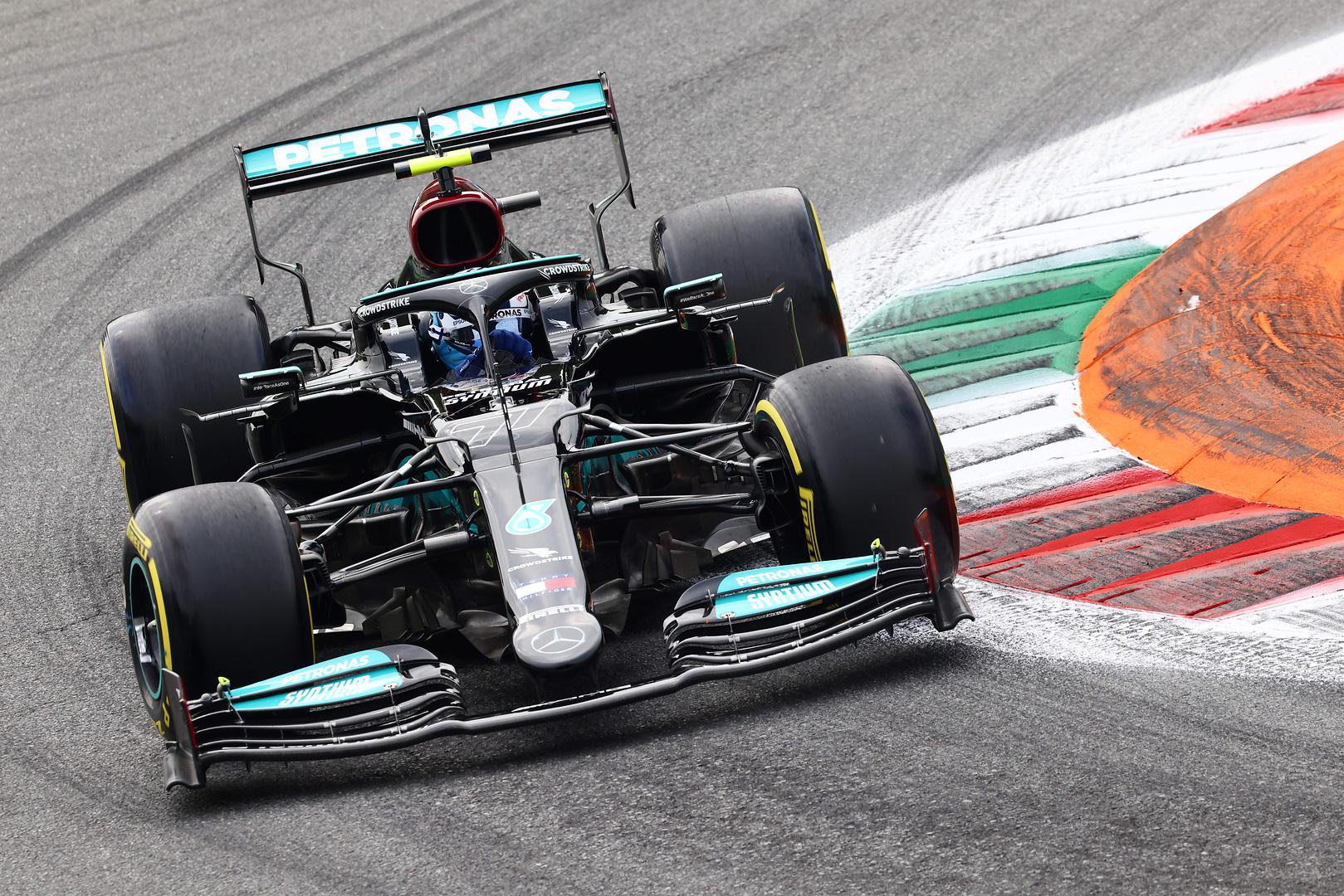 Italijoje surengtose sprinto lenktynėse nugalėjo V. Bottas