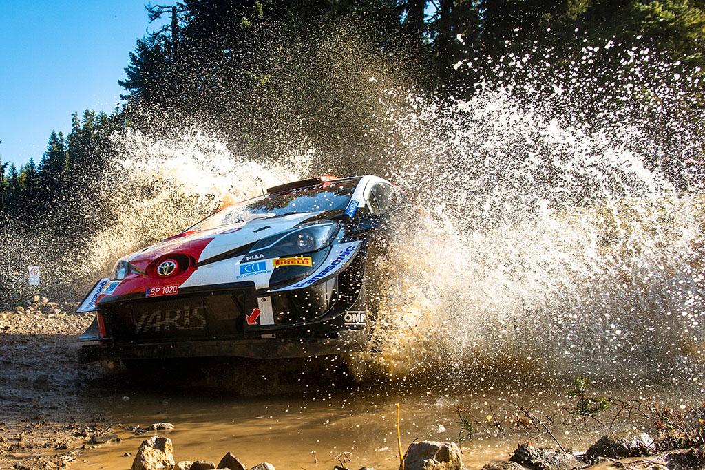 WRC. K. Rovanpera išlieka Graikijos ralio lyderiu