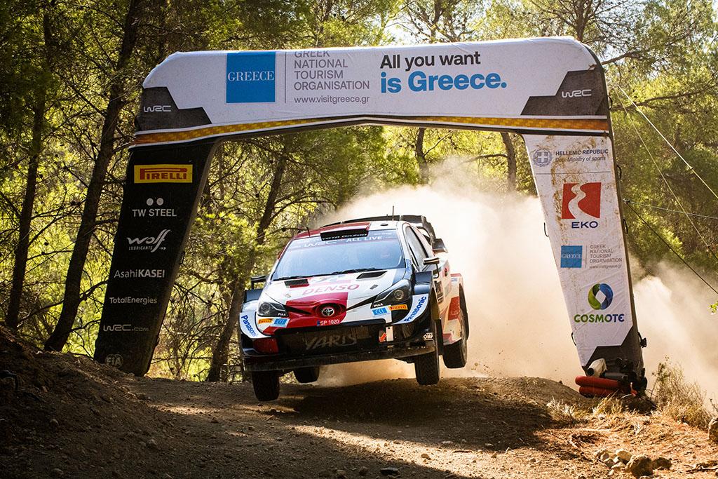 WRC. Graikijoje surengtame ralyje - antroji K. Rovanperos pergalė
