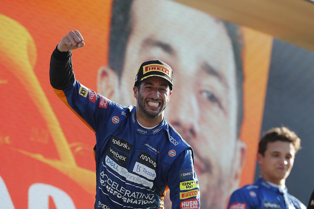 "Monzoje - D. Ricciardo ir ""McLaren"" triumfas"
