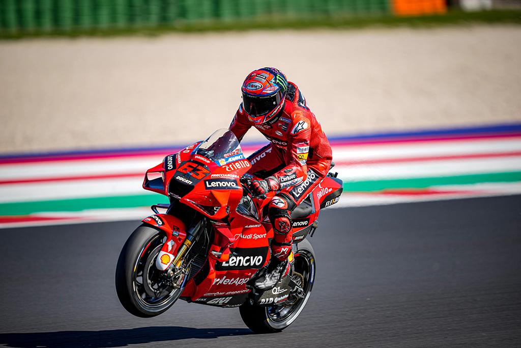 MotoGP. Misane - antroji iš eilės F. Bagnaios pergalė