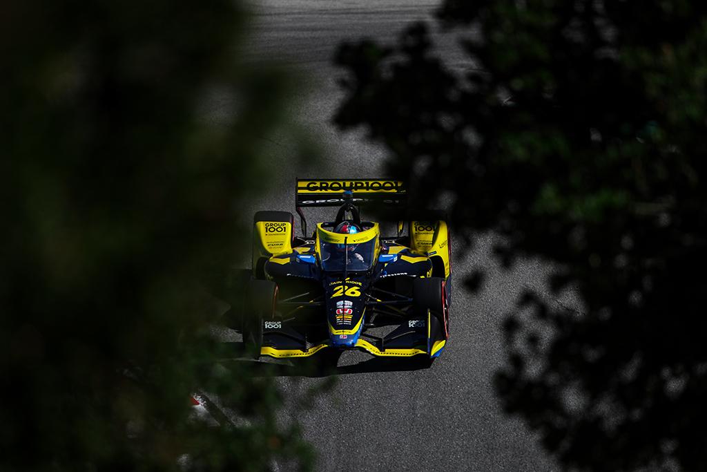 IndyCar. Laguna Secoje antrą kartą nugalėjo C. Herta