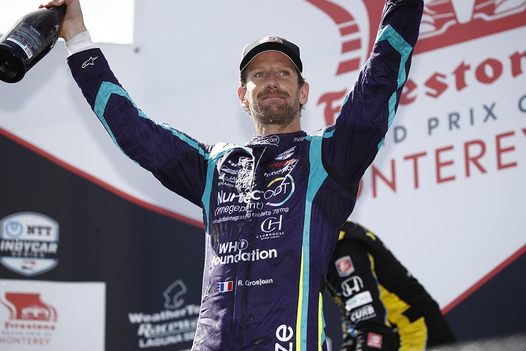 """IndyCar. R. Grosjeanas keičia komandą - kitąmet atstovaus """"Andretti"""""""