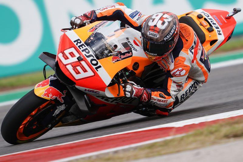 MotoGP. Ostino trasoje septintą kartą nugalėjo M. Marquezas